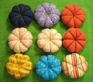 Pincushions for giveawaybacks