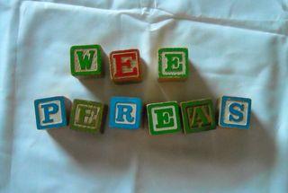Wee pereas blocks
